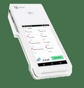signal payments clover flex register lite